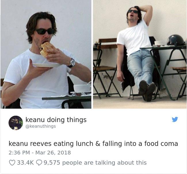 """21 Imagens provando que Keanu Reeves é o ator mais """"diferentão"""" de Hollywood"""