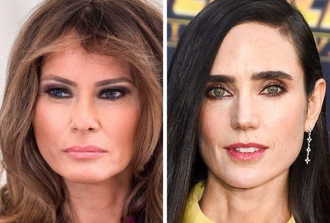Porquê são algumas mulheres famosas da mesma idade com e sem plástica