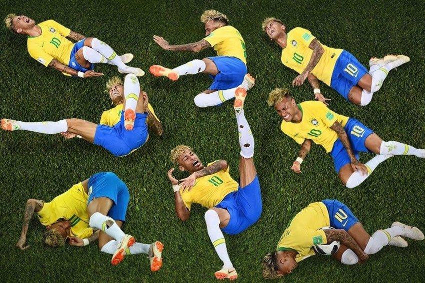 Qual queda de Neymar te representa? Faça o teste