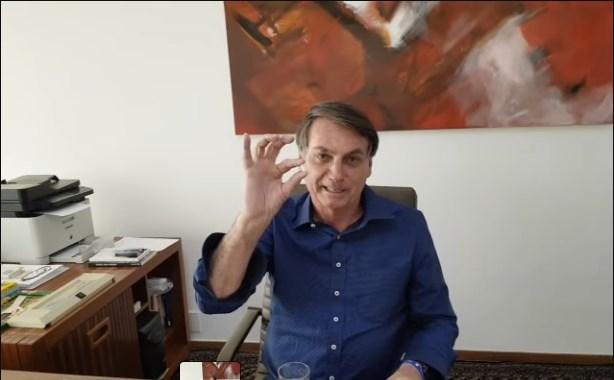 Bolsonaro Está fazendo tratamento com hidroxicloroquina e diz que confia na medicação