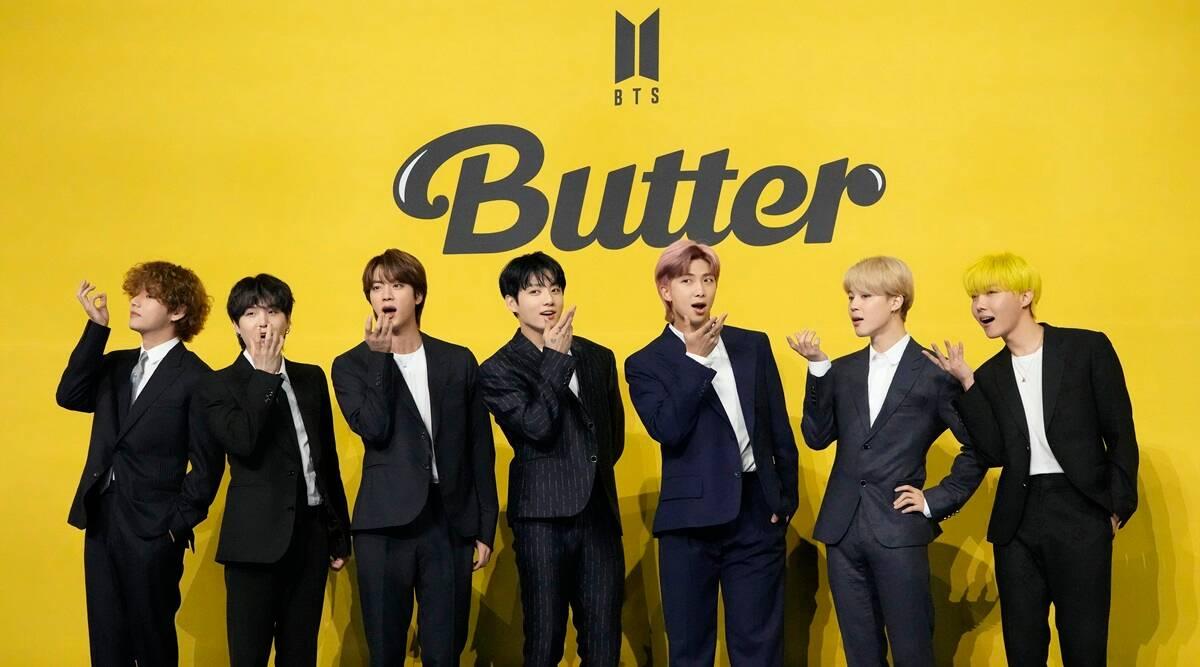 Banda Sul-Coreana famosa BTS quer conquistar o Grammy com o single Butter